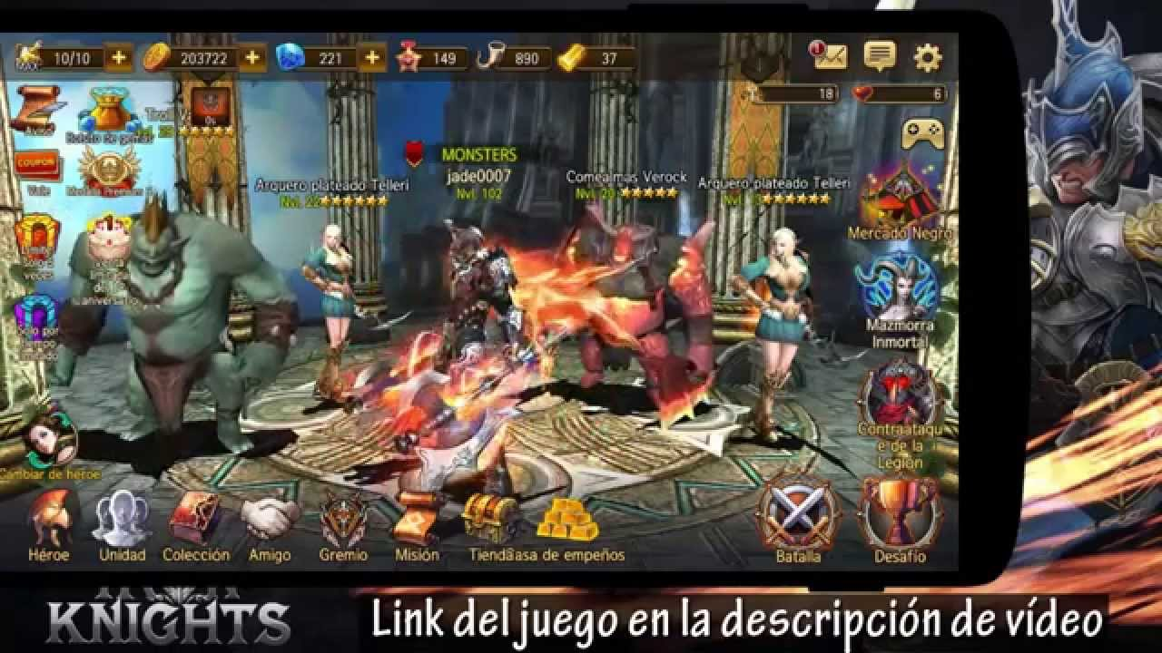 El Mejor Juego Rpg Para Android Game Play Review Youtube