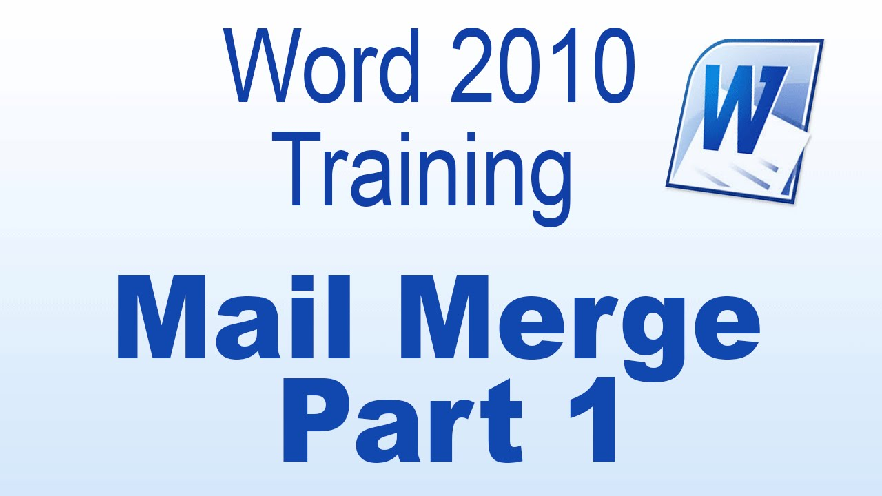 introduction to mail merge A mail merge is a powerful tool for creating documents in any word processor here are the basics that explain mail merge to get you started.