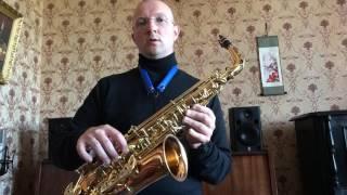 Аппликатура саксофона (урок 8)