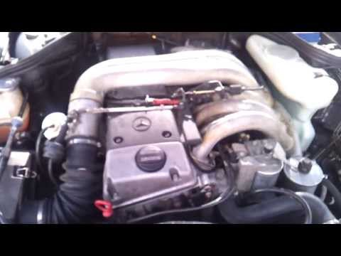 Mercedes W124 E300 Diesel OM606 Engine Sound