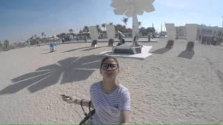 Jumeirah beach park & burj al-arab