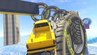 RAGE TRUCK PARKOUR - GTA 5 Funny Moments #693