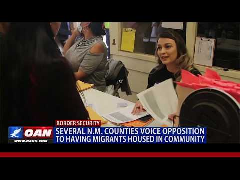Several N.M. counties voice opposition to having migrants housed in community