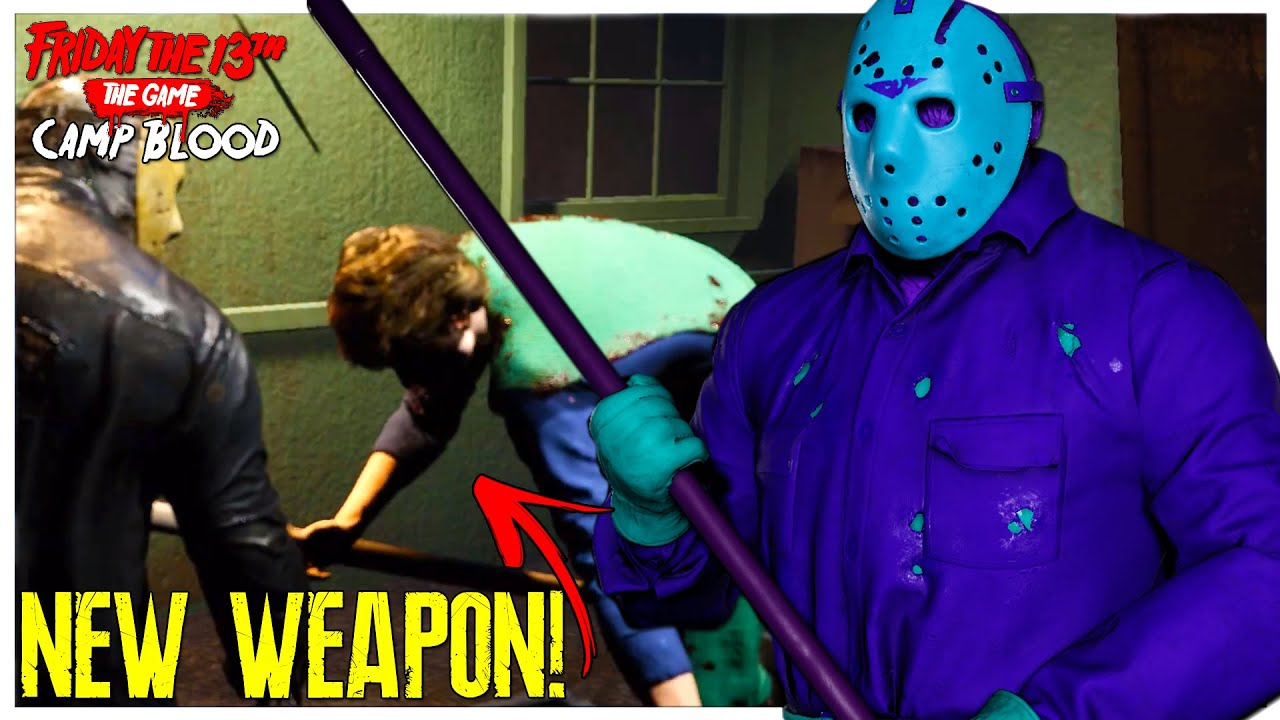 NEW WEAPONS AND RETRO JASONS!   Friday The 13th: Camp Blood