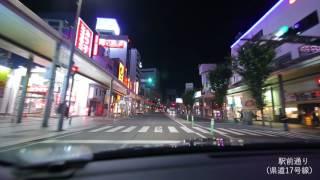 【車載動画】郡山市内の主要道路をぐるぐるしてみた!