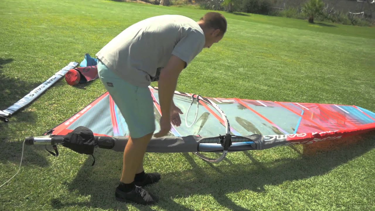 How to rig a Camber Sail