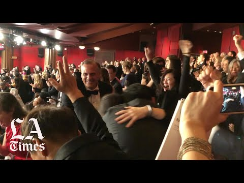 The moment 'Parasite' wins Best Picture