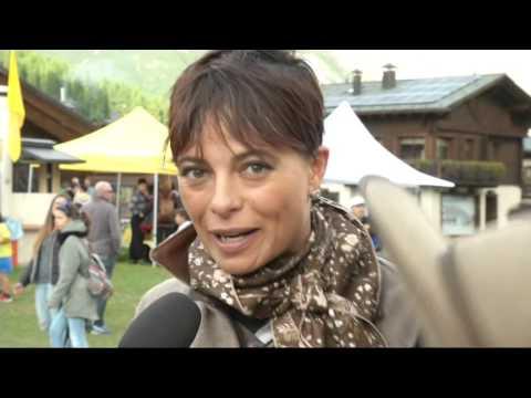 NATALIA ESTRADA OSPITE AD ALPEN FEST