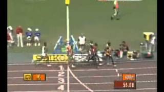 2007г чемпионат мира 800м финал
