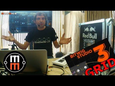 Future Music Technology - BITWIG 3 GRID (Лекция от Metronomlab)