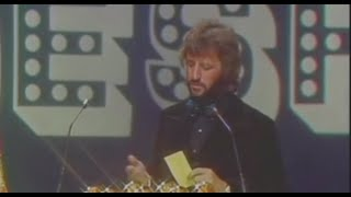 Ringo Starr and Harry Nilsson At The 15th Annual Grammy Awards - 3 March 1973