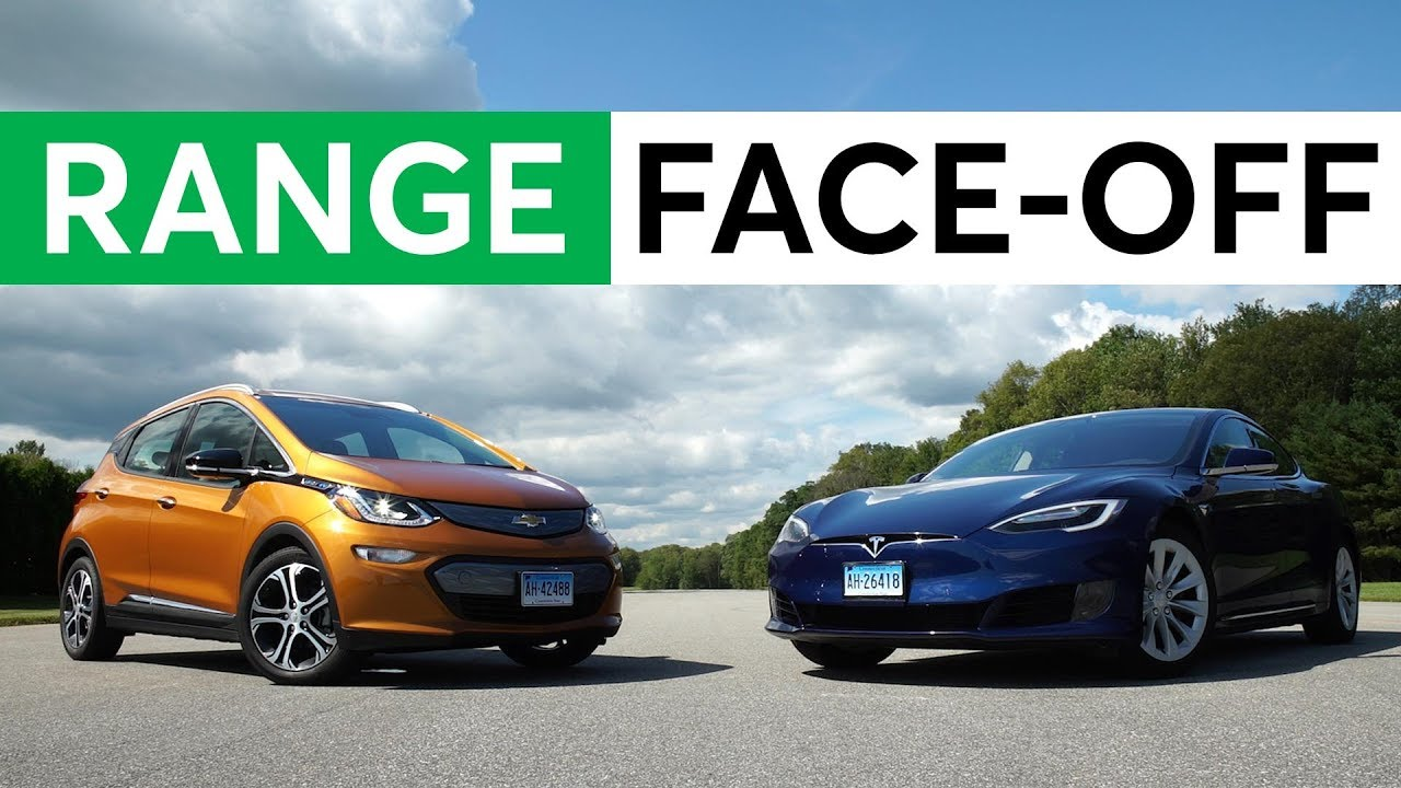 Electric Car Range Face Off Chevy Bolt Vs Tesla Model S 75d Consumer Reports