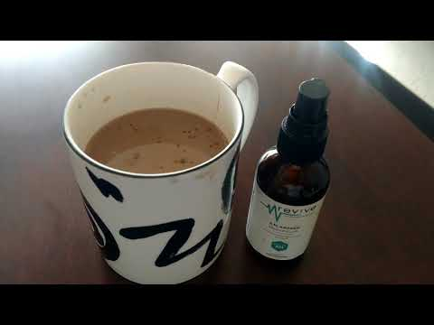 Taking Cbd oil... With my coffee :)