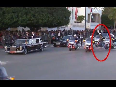 Un homme tente de bloquer la voiture du roi Mohammed VI (Bladi.net)