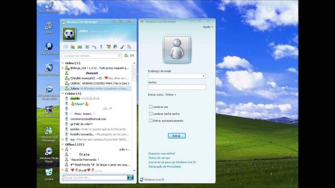 Window Live Messenger R I P Windows Live Messenger Msn 1999 2013 Youtube
