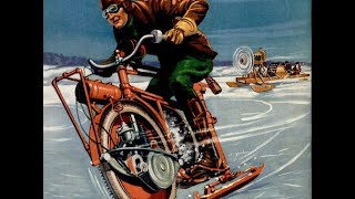 Мотоцикл зимний
