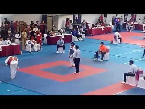 Obiem in action @ Malang Open Taekwondo 2017