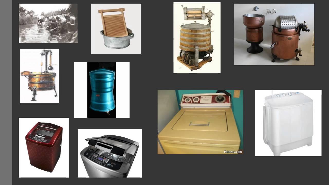 Historia de la lavadora y su evolucion youtube - Fotos de lavadoras ...