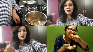 Aj dinner kyu nh bana ! Tea time chit chat ! #vlog !! #indianyoutuber Ruchi