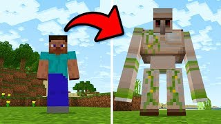 How to BECOME any MOB in Minecraft! - Minecraft Pocket Edition