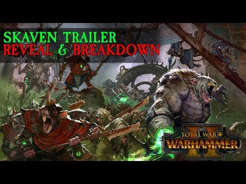 Skaven In-Engine Trailer & Campaign Intro Breakdown (Lord Skrolk & More) | Total War: Warhammer 2