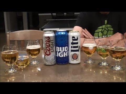 Battle of the Domestics: Bud Light vs Coors Light vs Miller Lite