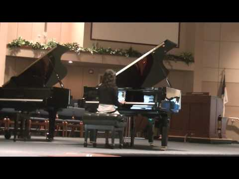 Keerthana Piano recital: Colorado Federation of Music Clubs 2014 State Festival