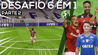 DESAFIO DE FIFA: 6 em 1 - ACERTARAM O TRAVESSÃO!