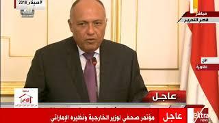 وزير الخارجية: مصر تعمل على توحيد الجيش الليبي