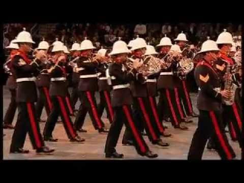Band of HM Royal Marines am Berlin Tattoo 2011 in der O2 World