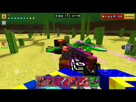 PIXEL GUN 3D #129 BEAST'S CAVE IS HERE ALSO THE ZOMBIE GLITCHES