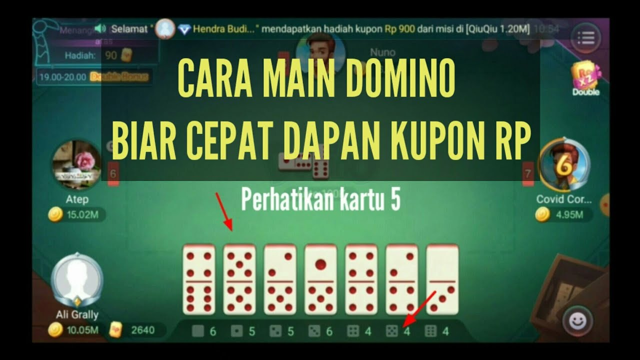 Tips Trik Main Domino Agar Menang Terus Youtube