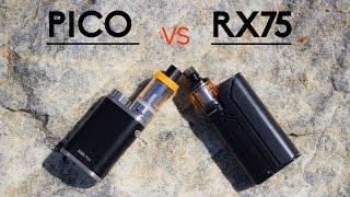 Wismec RX75 vs iStick PICO faceoff [GIVEAWAY CLOSED]