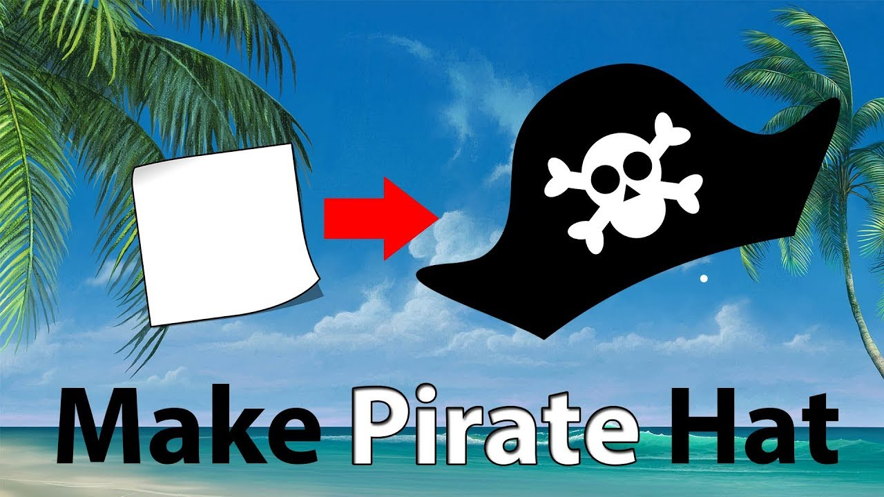 How to make Pirate Hat Online: 123Peppy.com | Pirate crafts ... | 720x1280