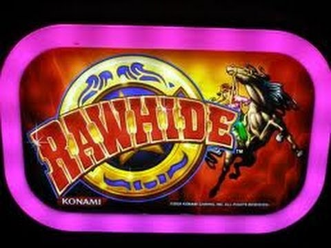 Rawhide casino slot machine poker lottery game facebook winners