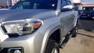 2017 Toyota Tacoma Limited 4x4 for Brant from Randy at Lagrange Toyota