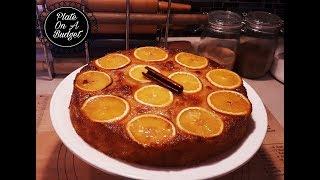 GREEK ORANGE PHYLLO CAKE - PORTOKALOPITA
