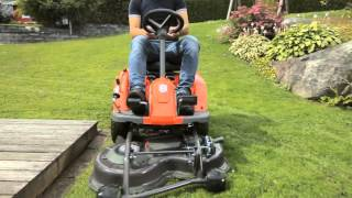 Best Buy Mowers presents...Husqvarna Rider Battery - Electric Ride-on Lawnmower