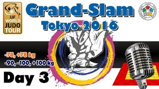 Judo Grand-Slam Tokyo 2016: Day 3