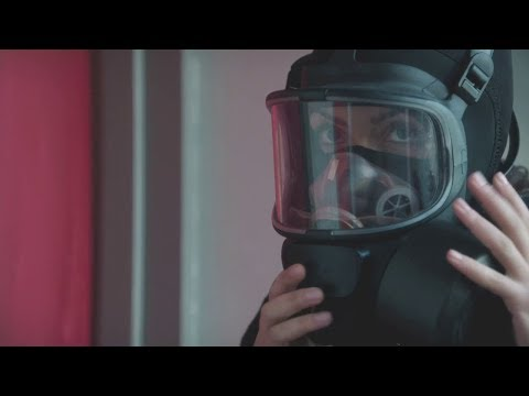 Woman with mask AND gas mask VS terrorists [HD] from YouTube · Duration:  3 minutes 52 seconds