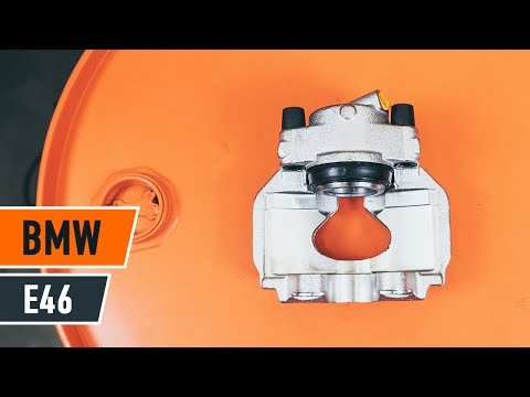 How to replace a front brake caliper on BMW 3 E46 TUTORIAL | AUTODOC