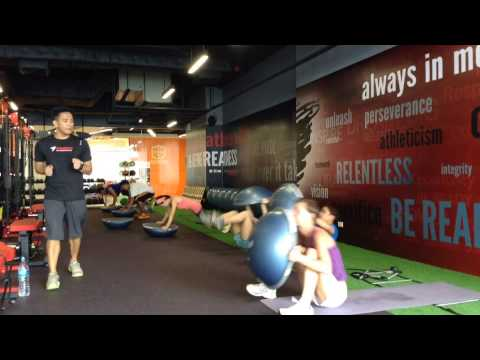 Twist Gravity @ Twist Sport Conditioning Centre - Bangkok