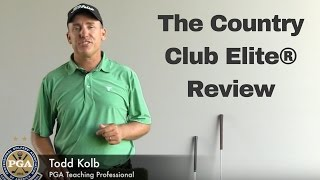 Todd Kolb Reviews The Country Club Elite® Golf Mat
