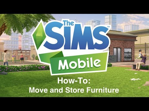 The Sims Mobile: How To Move and Store Furniture