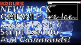 ROBLOX New Hack Exploit For #ROBLOX Pure Ice ✅ Btools Lua C Fire Sparkles And More ✅ [Working]!!!