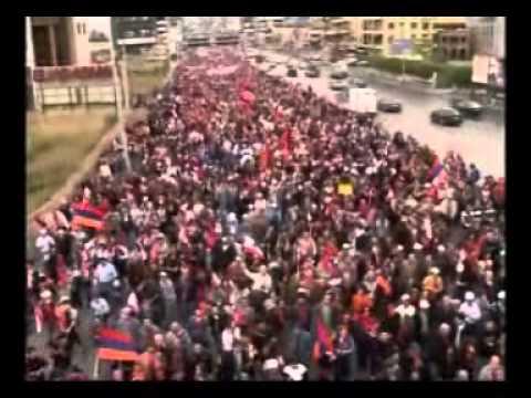 Armenian Genocide Commemoration In Lebanon On April 24, 2006