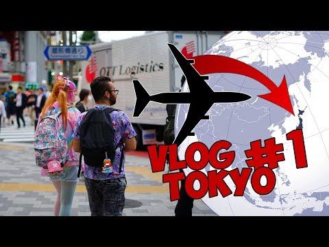 VLOG 1 - DEBUT DE NOTRE VOYAGE À TOKYO
