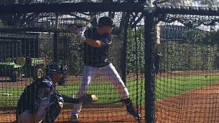 Yankees' Brandon Drury takes 1st swings...