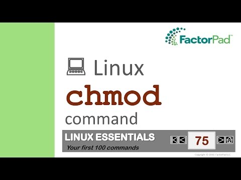Linux Chmod Command Summary With Examples