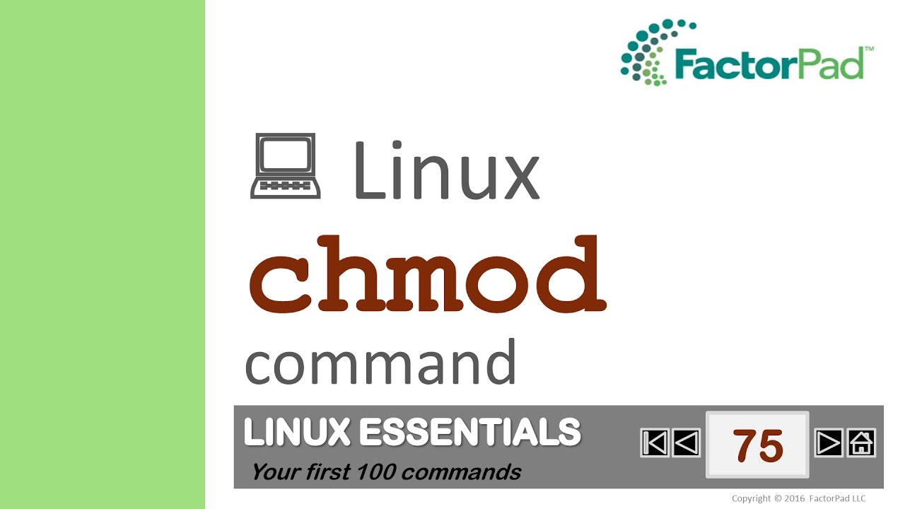 how to change permissions linux chmod